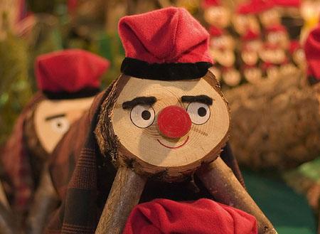 """Рождество в Каталонии (Испания) - бревно """"Caga Tió"""""""