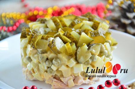 салат заправленный горчицей и майонезом пошаговый рецепт