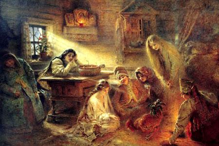 Рождественские святки и гадания: на грани язычества и веры