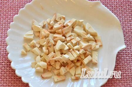 Сметанный соус с грибами шампиньонами