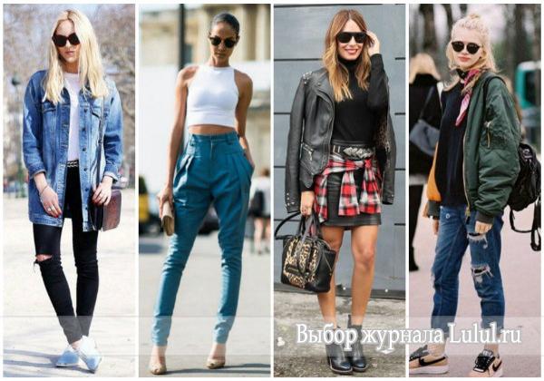 стиль 90-х годов в одежде