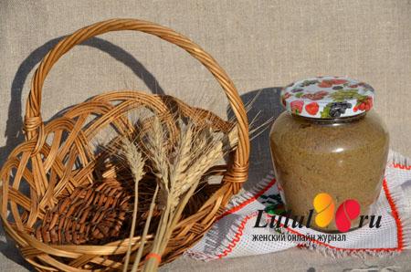 Постный паштет из грибов (грибной паштет) рецепт с фото