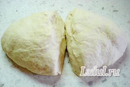 Дрожжевой пирог с рыбой и картофелем рецепт с фото
