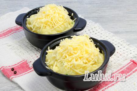 Суфле из картофеля и сыра