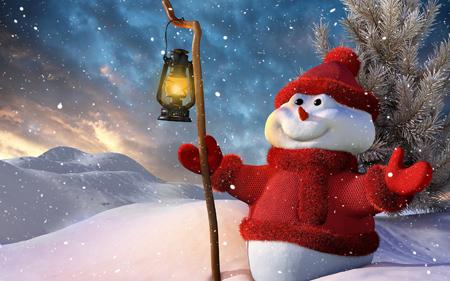 Гадание на суженого: по снегу и по снеговику