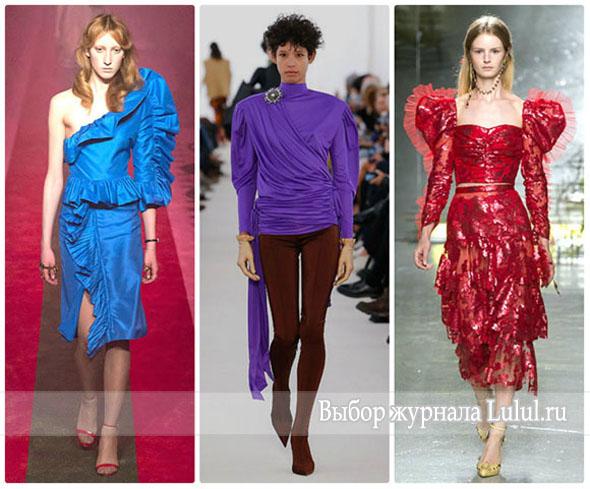 Мода 80-х годов снова на пике