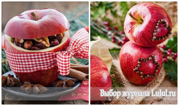 яблоки с корицей и гвоздикой фото