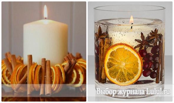 свечи корица гвоздика фото