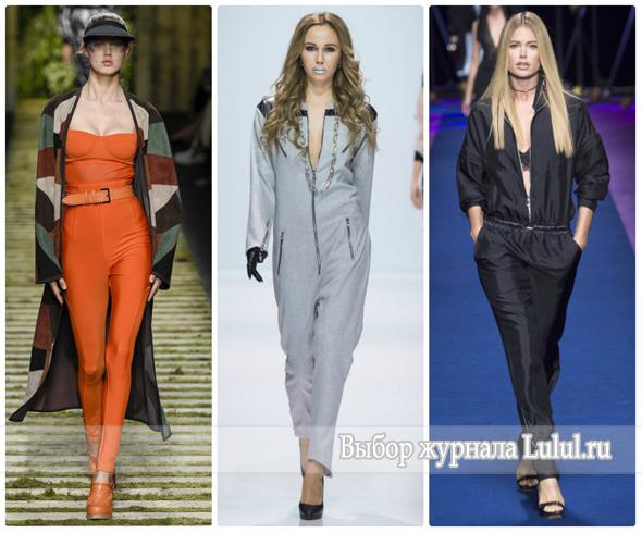 Модные комбинезоны на весну 2017