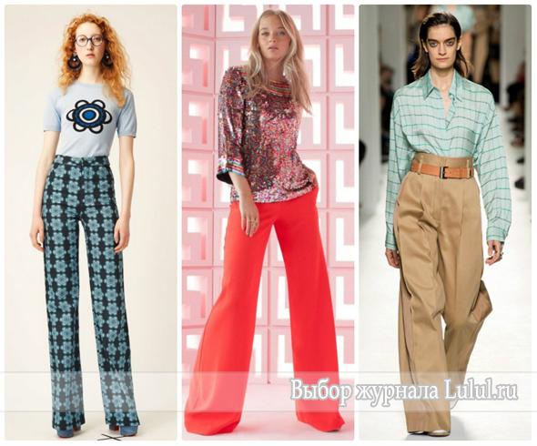 a0ebea2618ba Весенняя мода 2017 года  брюки, юбки, плащи, блузки, комбинезоны ...
