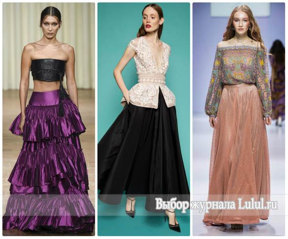 Летняя мода 2017 года - юбки, брюки, пляжная мода, купальники, комбинезоны