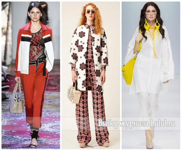 Модные образы весна-лето 2017 года: костюм, юбка, платье, брюки