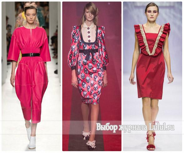 Модные платья для работы на весну и лето