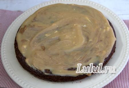 Шоколадный торт с безе «Инь и Янь» в домашних условиях