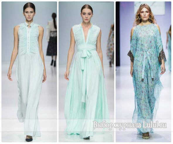 Модные вечерние платья на выпускной 2017