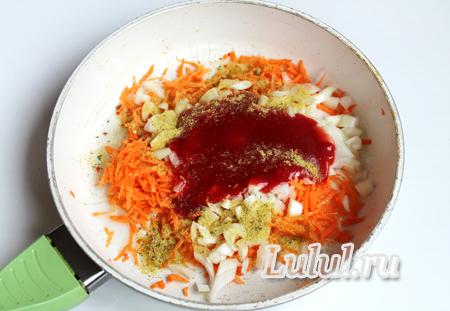 суп с красной фасолью жареными колбасками фото
