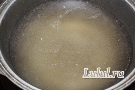 Суп со стручковой фасолью и рисом