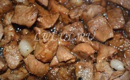 свинина в медово соевом соусе