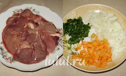 рецепты блюд из куриной печени