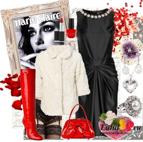 праздничный образ, что надеть на день святого Валентина, что надеть на 23 февраля, что одеть на 8 марта