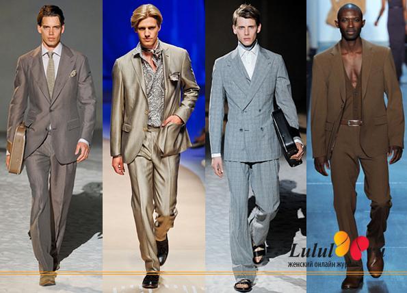как выбрать мужской костюм