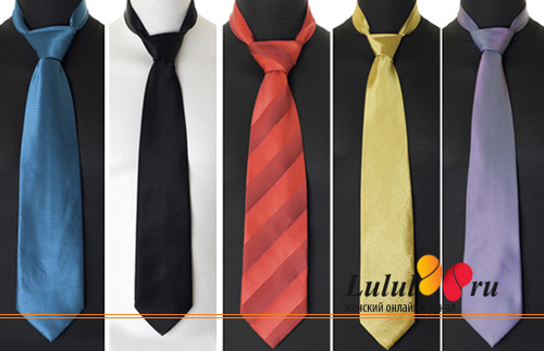 галстук в подарок мужчине
