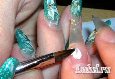 Мастер класс по наращиванию ногтей