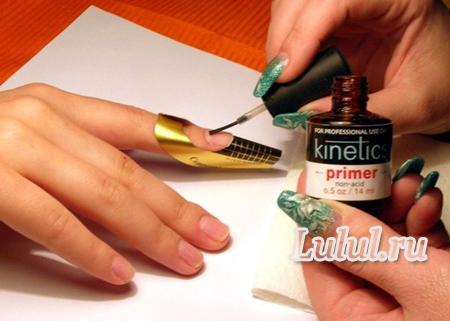 мастер класс по наращиванию ногтей фото