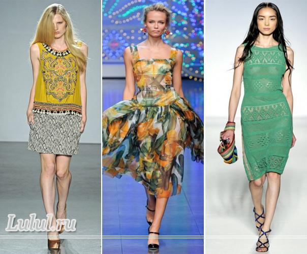 летняя мода 2012 для женщин мода