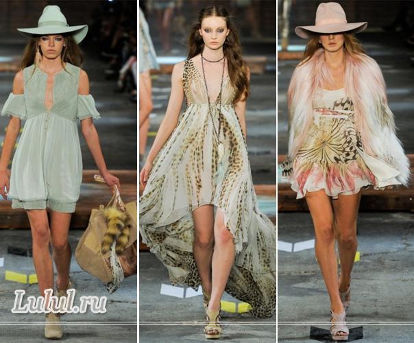летняя мода 2012 года для женщин