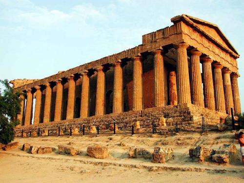 достопримечательности сицилии, курорты, Долина Храмов в Агридженто