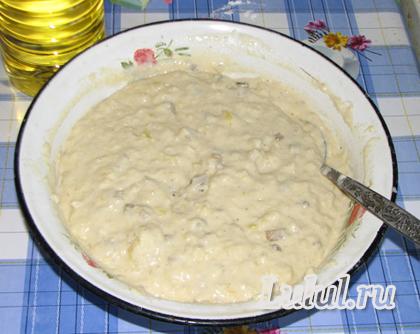 оладьи с грибами, картошкой рецепт с фото