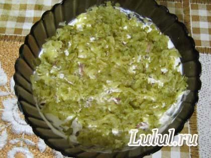 печеночный салат рецепт с фото