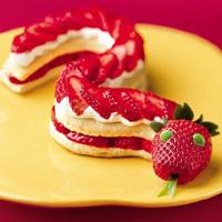 десерт в виде змеи