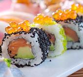 красная икра, блюда из рыбы