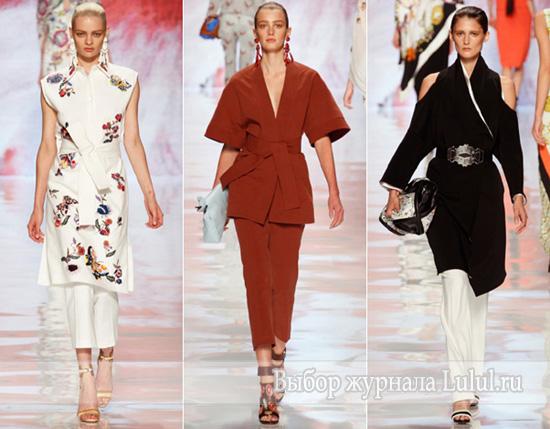 мода весна лето 2013 года восток