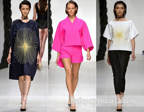 модный стиль одежды весна лето 2013 года