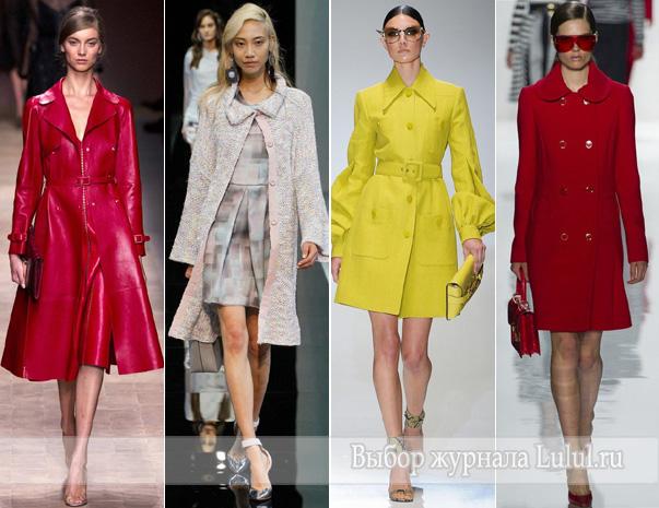 женская модная верхняя одежда весна 2013 года
