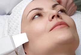 Глубокая чистка кожи при помощи ультразвука