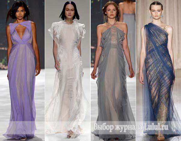 выпускные платья на 2013 год