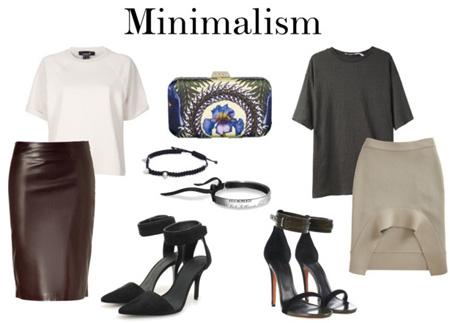 Образы в стиле минимализм