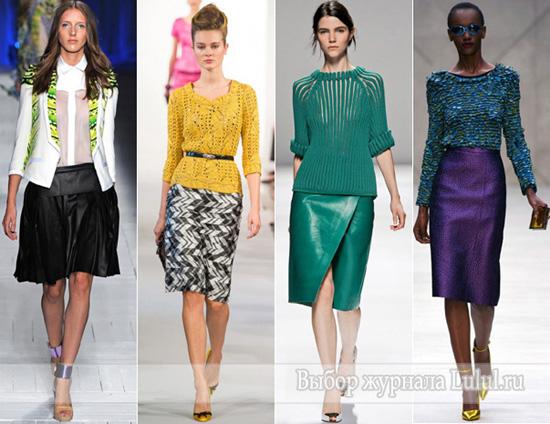 весенняя мода 2013 коллекции весна-лето 2013