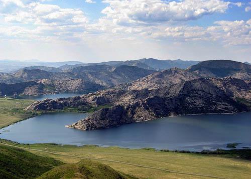 Сибинские озера казахстан
