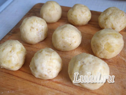 кнедлики из картофеля рецепт с фото