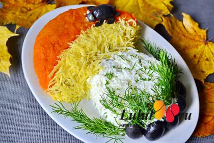 салат на праздник для детей рецепт с фото
