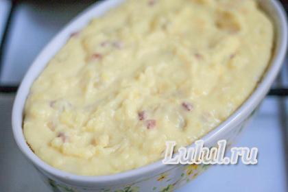 рецепт картофельной запеканки рецепт с фото