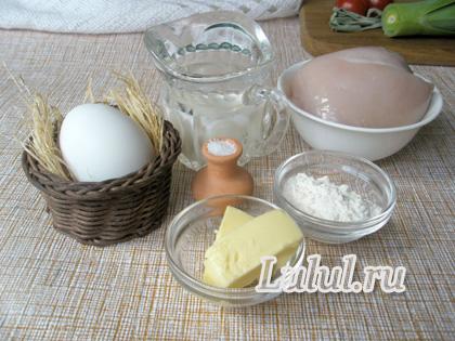 ингредиенты для куриного филе