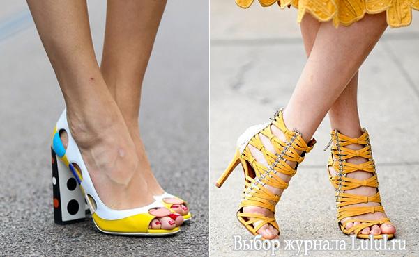 туфли модные 2015