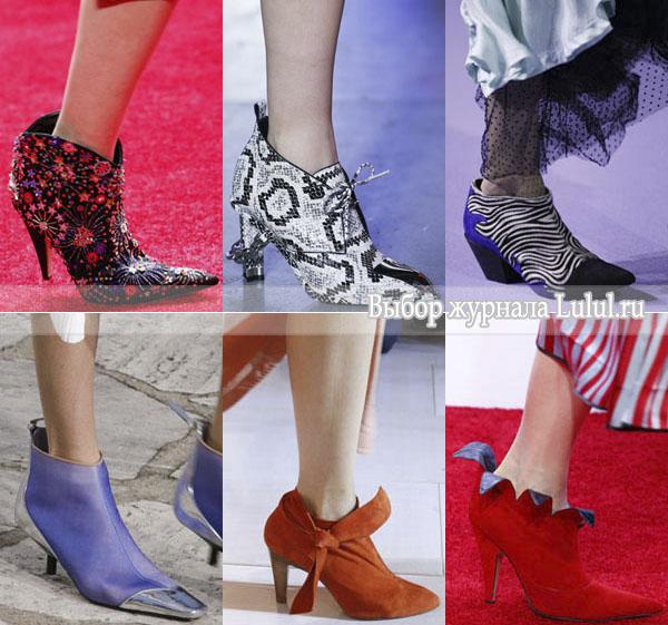Модная обувь для весны 2016 года: сапоги, ботильоны, туфли