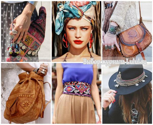 этнический стиль в одежде фото